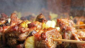 تتبيلة اللحم الضأن المشوي