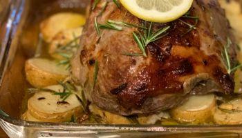 طريقة شوي لحم الخروف في الفرن