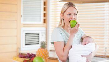 التغذية السليمة بعد الولادة القيصرية